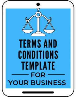 standard terms & conditions website